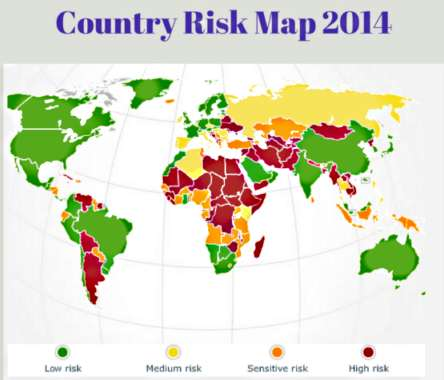 country risk tier Country risk refers to the risk of investing or lending in a country, arising from possible changes in the business environment that may adversely affect operating profits or the value of assets in the country for example, financial factors such as currency controls, devaluation or regulatory changes.