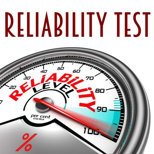 Image result for Reliability testing.
