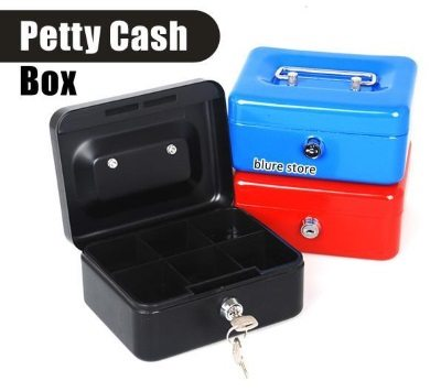 Petty cash safe box