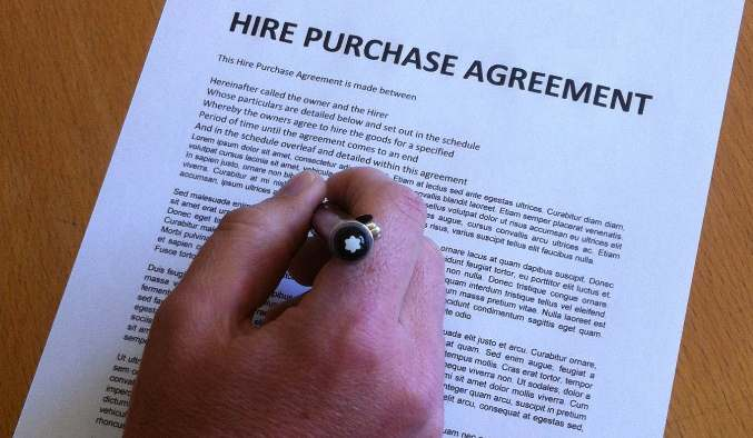 Status of Hire Purchase in India – Commercial Purchase Agreement