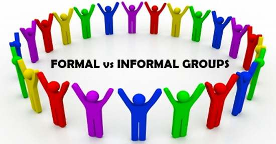 Formal vs Informal Groups