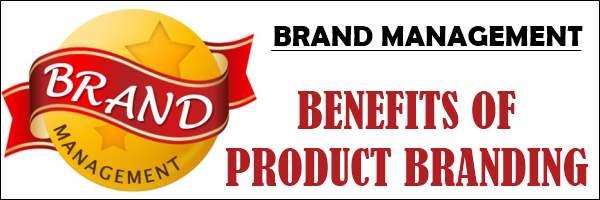 Benefits of Product branding
