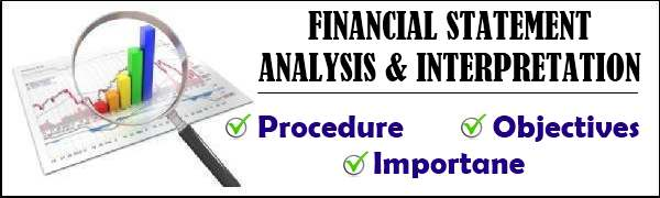 Financial Statement Analysis & Interpretation