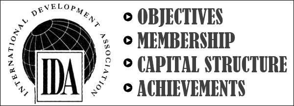 IDA - Objectives, Membership, Capital Structure, Achievements