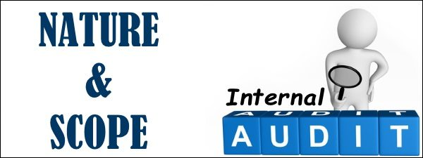 Nature and Scope of Internal Audit