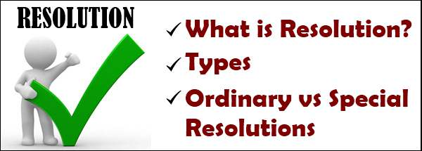 Resolution - types, differences
