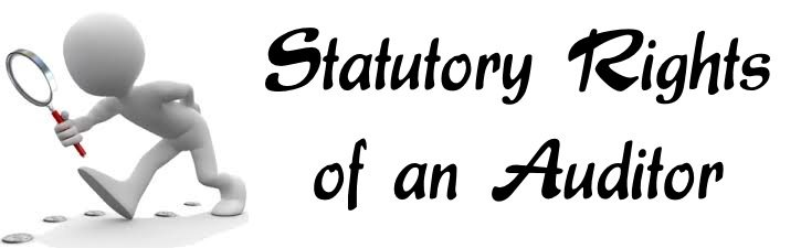 Statutory Rights of an Auditor