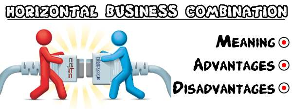 Horizontal business combination - Meaning, Advantages, Disadvantages