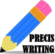 precis writing exercises