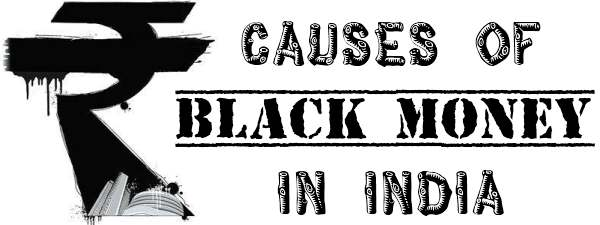 Causes of Black Money in India