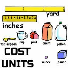 Cost Units