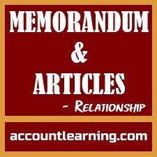 Memorandum and Articles - Relationship