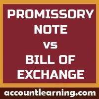 Promissory Note vs Bill of Exchange
