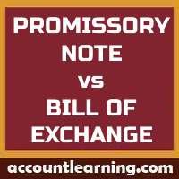 Promissory Note vs Bill of Exchange