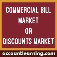 Commercial bill market or Discounts Market