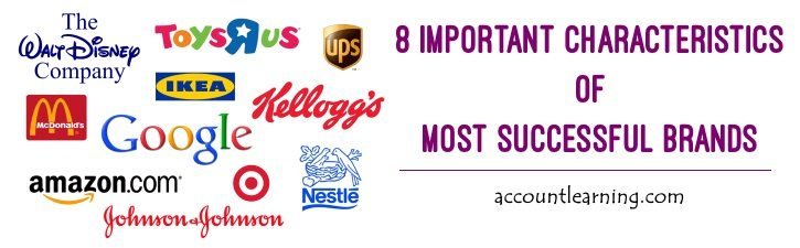 Characteristics of most successful brands