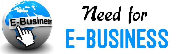 Need for Electronic Business