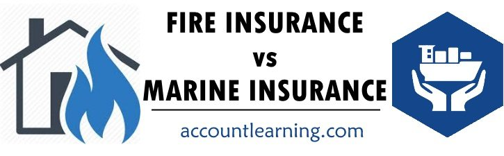 Fire Insurance vs Marine Insurance