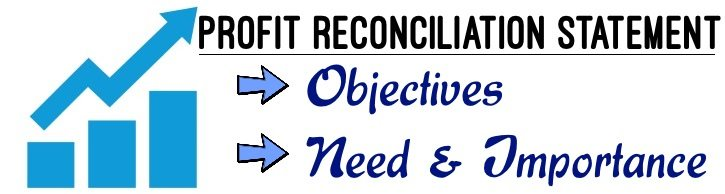 Profit Reconciliation Statement - Objectives, Need, Importance