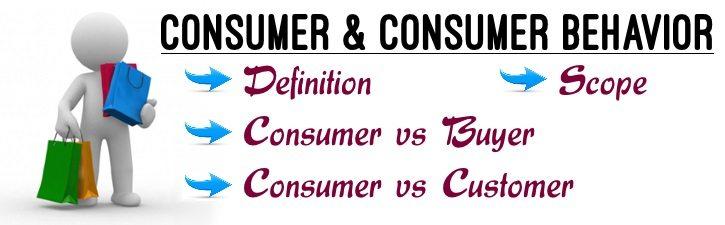 Consumer & Consumer Behaviour
