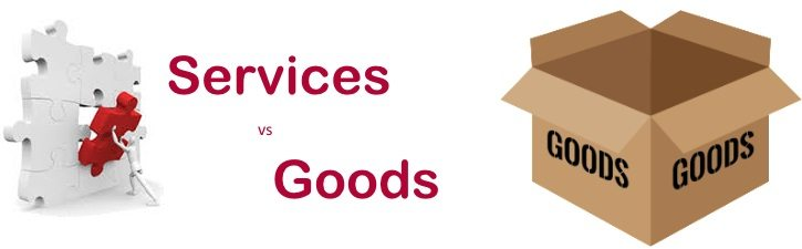 4 Major differences between Goods and Services