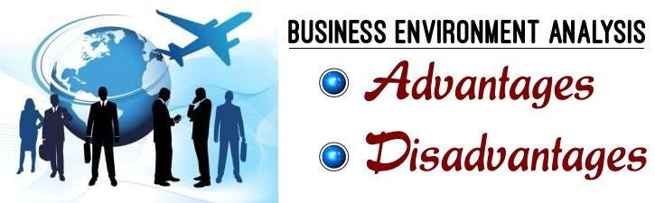 Business Environment Analysis - Advantages, Disadvantages