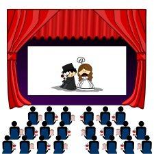 Advertising in Cinema Theatre