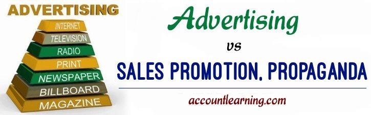 Advertising vs Sales Promotion, Propaganda