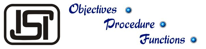 ISI - Objectives, Procedure, Functions