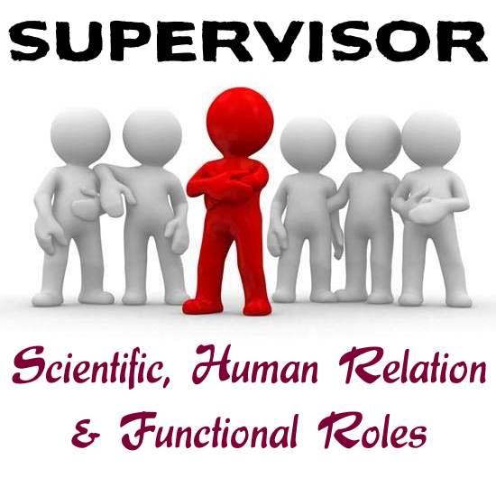 Roles of Supervisor