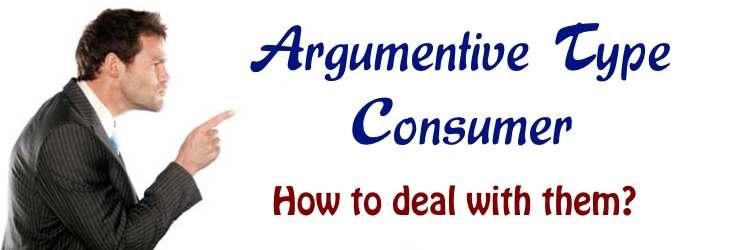 Argumentative Type Consumers
