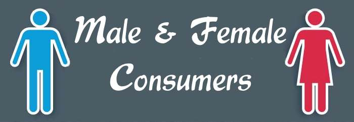 Male and Female Consumers