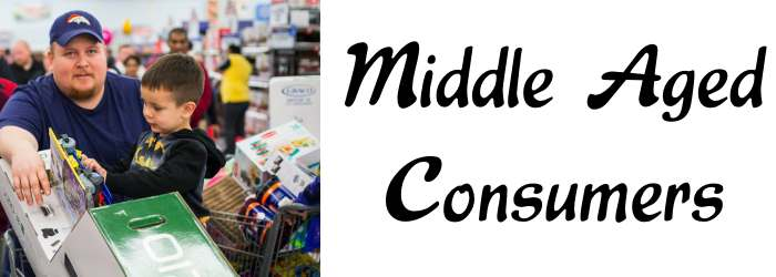 Middle Aged Consumers