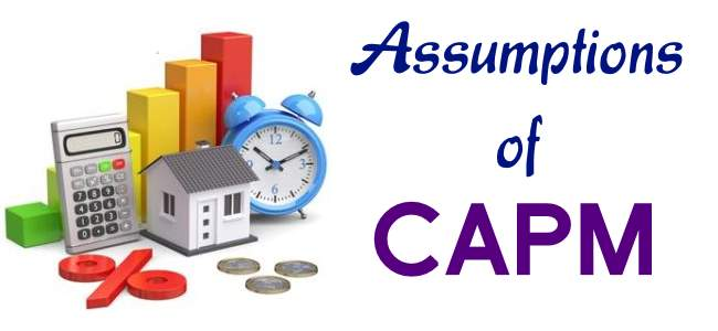 Assumptions of CAPM